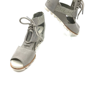 Primary Photo - BRAND: SOREL STYLE: SANDALS LOW COLOR: GREY SIZE: 10 SKU: 262-26241-42918SOME SLIGHT SCRATCHES REFLECTED IN PRICE