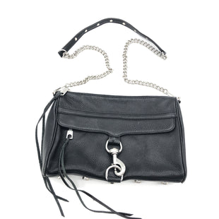 "Primary Photo - BRAND: REBECCA MINKOFF STYLE: HANDBAG DESIGNER COLOR: BLACK SIZE: MEDIUM 8""H X 11""L X 2""W STRAP DROP: 22"" SKU: 262-26241-44820SLIGHT WEAR • AS IS"
