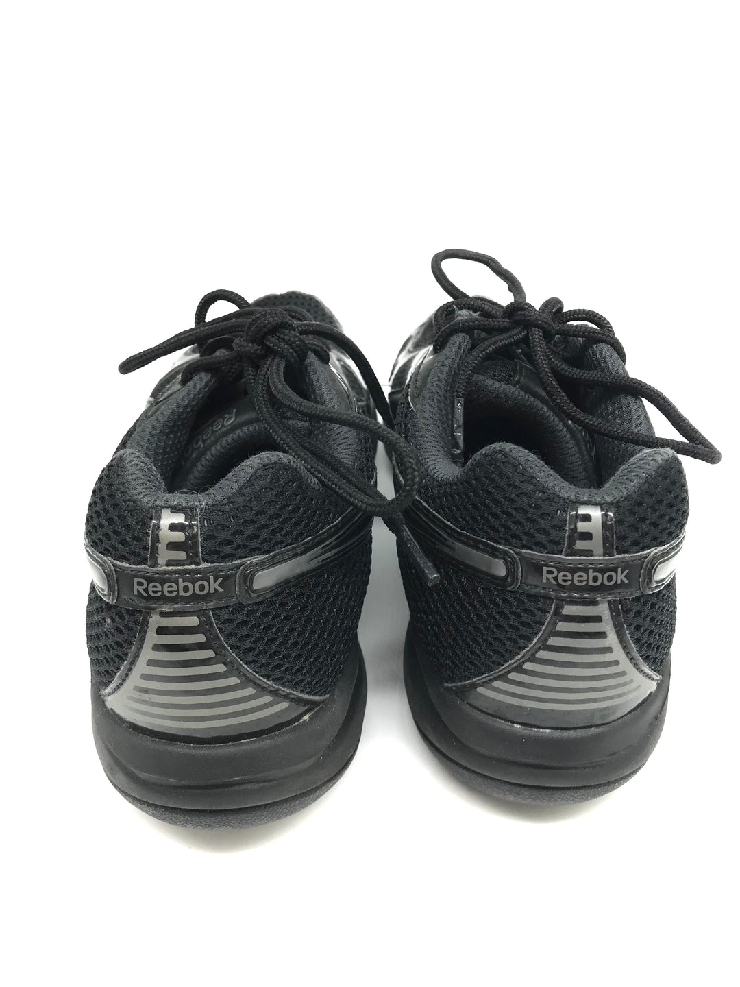 Photo #4 - BRAND: REEBOK <BR>STYLE: SHOES ATHLETIC <BR>COLOR: BLACK <BR>SIZE: 8 <BR>SKU: 262-26241-43781