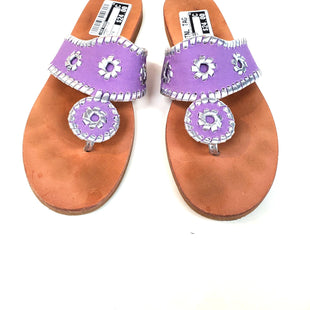Primary Photo - BRAND: JACK ROGERS STYLE: SANDALS FLAT COLOR: LILAC SIZE: 8 SKU: 262-26211-137827AS IS