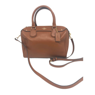 "Primary Photo - BRAND: COACH STYLE: HANDBAG DESIGNER COLOR: BROWN SIZE: SMALL SKU: 262-26241-483989""WX7""HX4.75""DCROSSBODY STRAP INCLUDED"