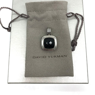 Primary Photo - BRAND: DAVID YURMAN STYLE: PENDANTCOLOR: BLACK SKU: 262-26241-43827925 STERLING SILVER WITH BLACK ONYX. PRICE REFLECTS SOME SLIGHT WEAR AROUND THE STONE.