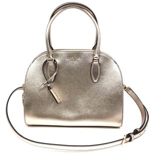 "Primary Photo - BRAND: KATE SPADE STYLE: HANDBAG DESIGNER COLOR: METALLIC SIZE: MEDIUM SKU: 262-26275-75880APPROX. 11.75""L X 9.5""H X 6.5""D"