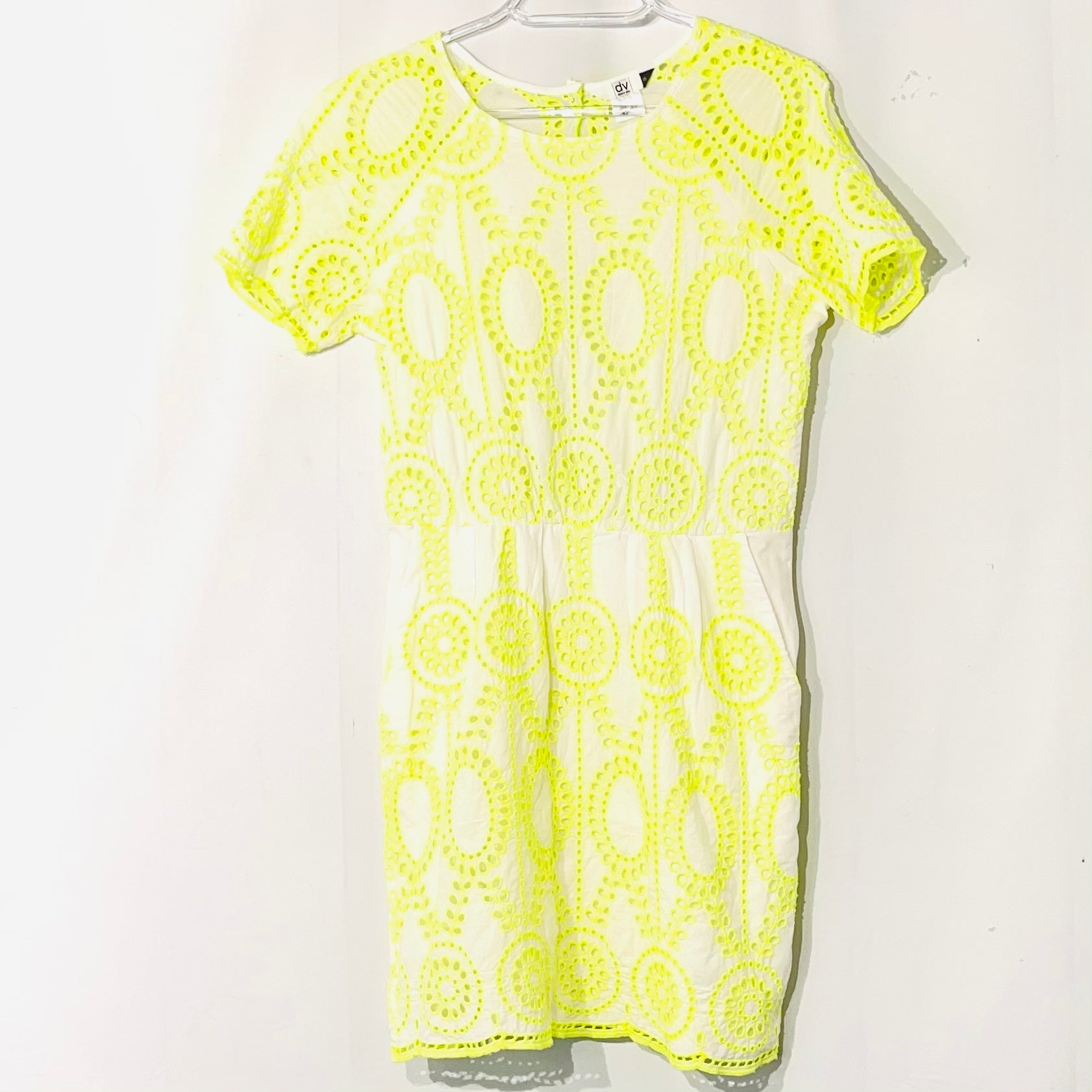 Primary Photo - BRAND: DOLCE VITA <BR>STYLE: DRESS SHORT SHORT SLEEVE <BR>COLOR: YELLOW <BR>SIZE: M <BR>SKU: 262-26275-74911