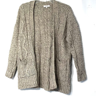 Primary Photo - BRAND: MADEWELL STYLE: SWEATER CARDIGAN LIGHTWEIGHT COLOR: BEIGE SIZE: S SKU: 262-26211-142831