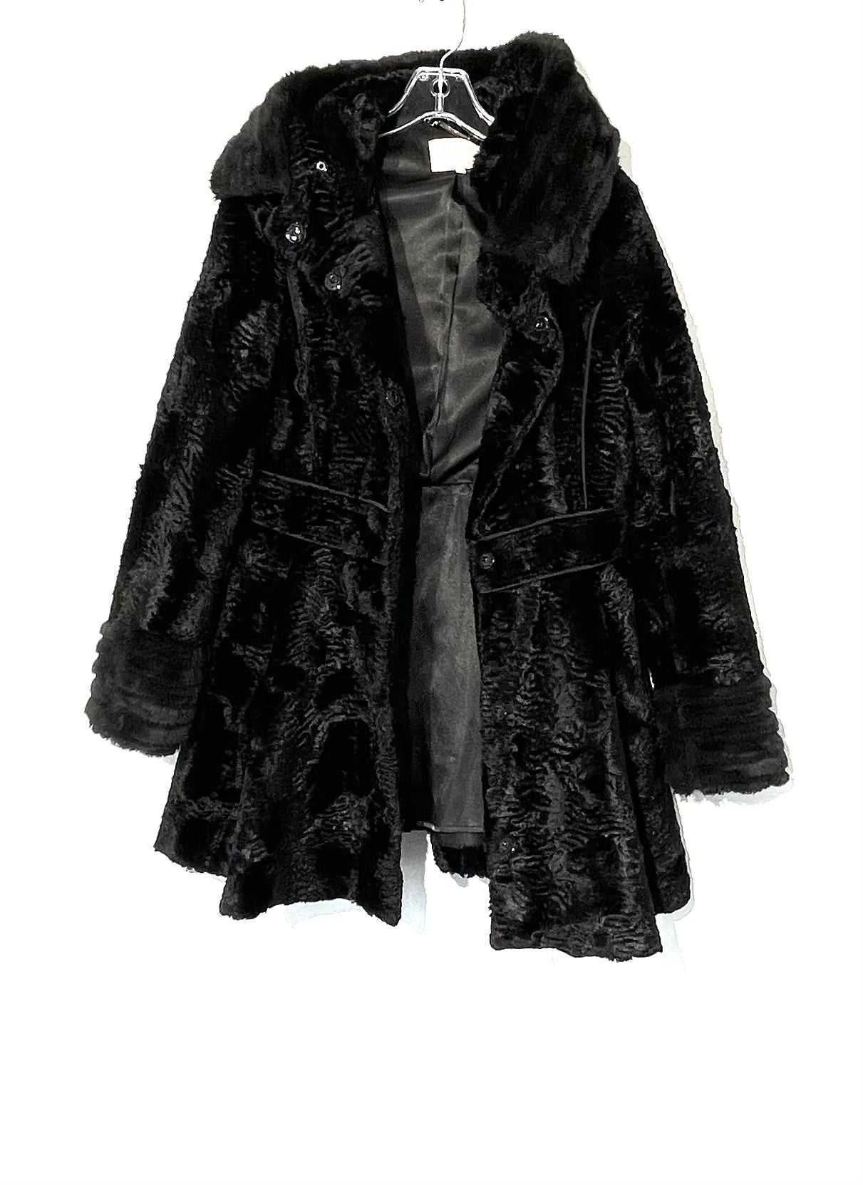 Primary Photo - BRAND: LAUNDRY <BR>STYLE: COAT<BR>COLOR: BLACK <BR>SIZE: S <BR>SKU: 262-26275-73605