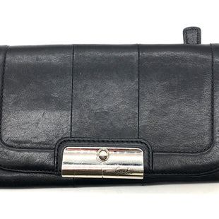 "Primary Photo - BRAND: COACH STYLE: WALLET COLOR: BLACK SIZE: MEDIUMSKU: 262-26275-76652APPROX. 7.75""L X 4.5""H. SOME SLIGHT SCRATCHES"