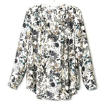 Primary Photo - BRAND: PLEIONE <BR>STYLE: TOP LONG SLEEVE <BR>COLOR: FLORAL <BR>SIZE: M <BR>SKU: 262-26275-60135