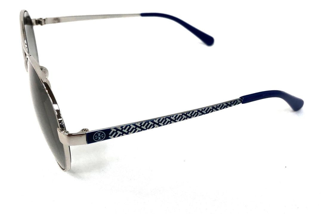 Photo #1 - BRAND: TORY BURCH <BR>STYLE: SUNGLASSES <BR>COLOR: BLUE <BR>SKU: 262-26211-121234<BR>AS IS