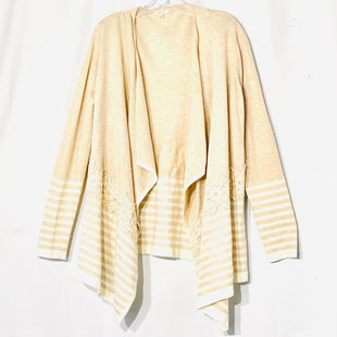Primary Photo - BRAND: MYSTREE STYLE: SWEATER CARDIGAN LIGHTWEIGHT COLOR: BEIGE SIZE: XL SKU: 262-26275-659013% WOOL