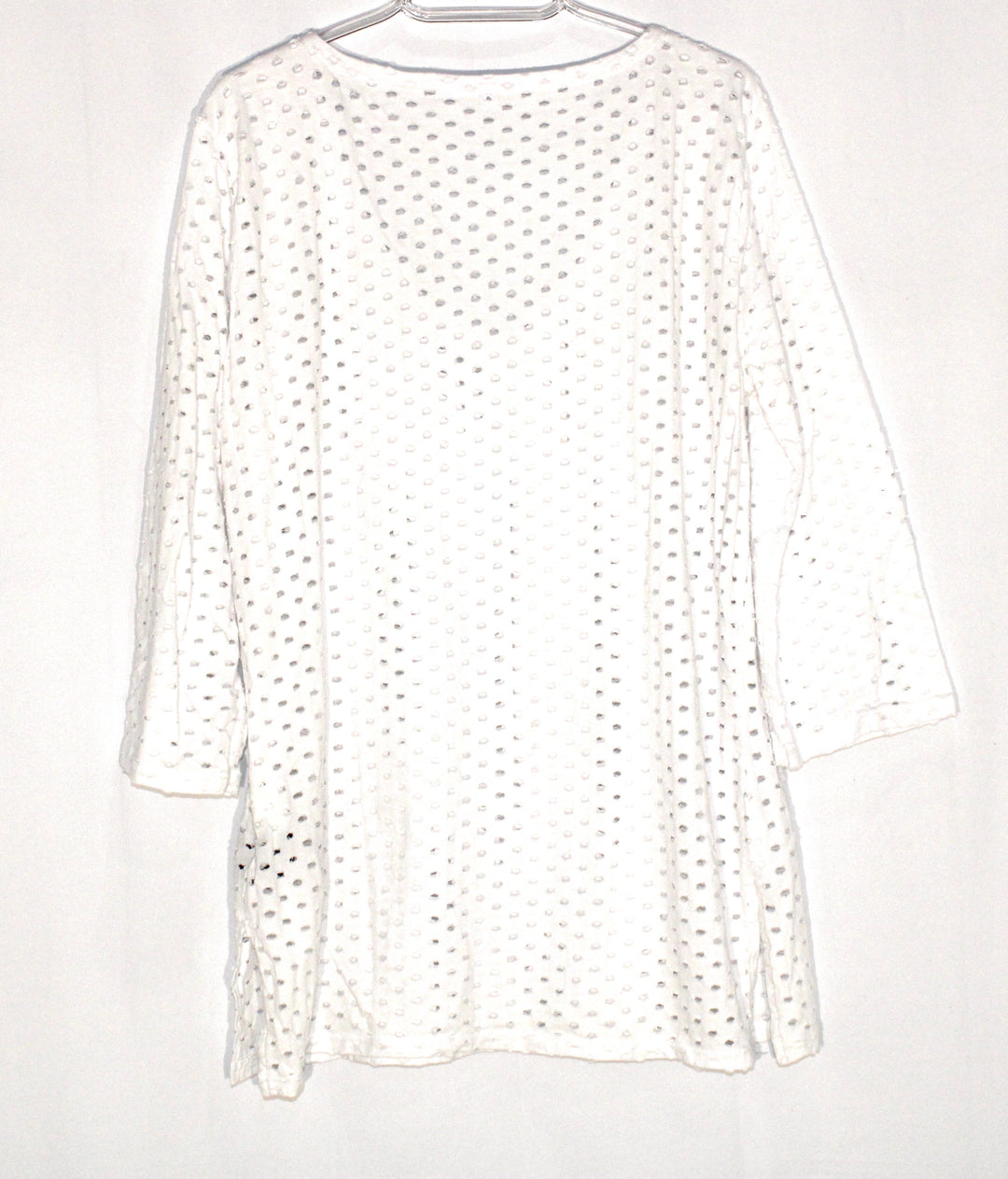 Photo #1 - BRAND:    ECO SWIM<BR>STYLE: TOP LONG SLEEVE <BR>COLOR: WHITE <BR>SIZE: L <BR>OTHER INFO: ECO SWIM - <BR>SKU: 262-26275-59647