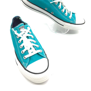 Primary Photo - BRAND: CONVERSE STYLE: SHOES ATHLETIC COLOR: TEAL SIZE: 8 SKU: 262-26275-69922IN GOOD SHAPE AND CONDITION