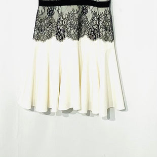 Primary Photo - BRAND: BCBGMAXAZRIA STYLE: DRESS SHORT SLEEVELESS COLOR: WHITE BLACK SIZE: S /4SKU: 262-26275-69891
