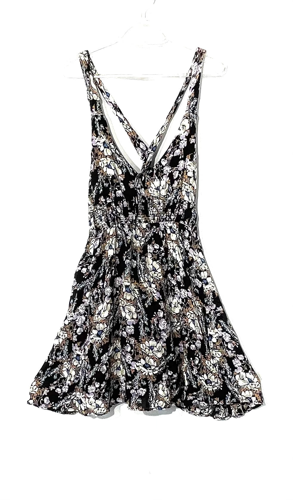 Primary Photo - BRAND: FREE PEOPLE <BR>STYLE: DRESS SHORT SLEEVELESS<BR>COLOR: FLORAL <BR>SIZE: L <BR>SKU: 262-26241-44385<BR>MORE COLORFUL THAN PHOTOS SHOW