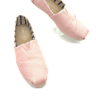 Primary Photo - BRAND: TOMS STYLE: SHOES FLATS COLOR: LIGHT PINK SIZE: 8 SKU: 262-26275-70157IN GOOD SHAPE AND CONDITION