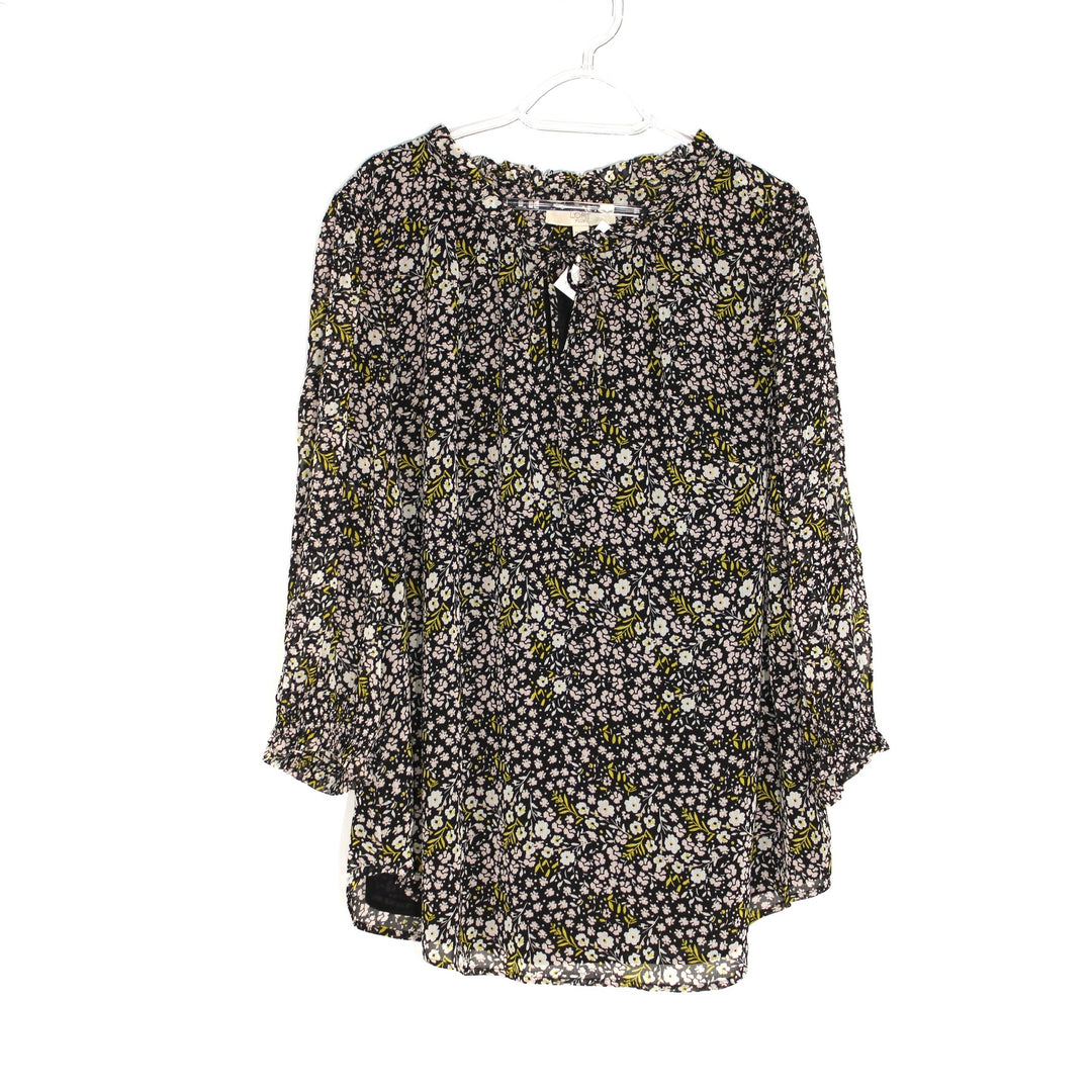 Primary Photo - BRAND: ANN TAYLOR LOFT <BR>STYLE: BLOUSE <BR>COLOR: FLORAL <BR>SIZE: 1X/18<BR>SKU: 262-26285-2537