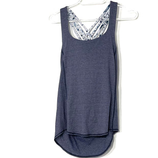 Primary Photo - BRAND: LULULEMON STYLE: ATHLETIC TANK TOP COLOR: BLUE SIZE: 2 SKU: 262-26211-142325DESIGNER FINAL