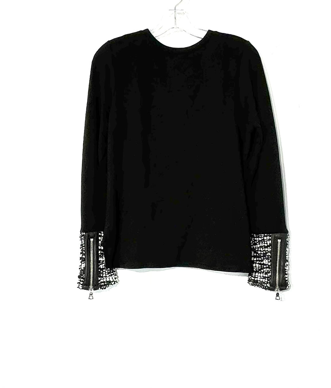 Photo #1 - BRAND:    GENERATION LOVE<BR>STYLE: TOP LONG SLEEVE <BR>COLOR: BLACK <BR>SIZE: XS<BR>OTHER INFO: GENERATION LOVE  - <BR>SKU: 262-26275-73516<BR>95% MODAL <BR>5% SPANDEX