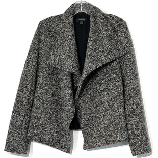 Primary Photo - BRAND: ANN TAYLOR STYLE: JACKET OUTDOOR BLAZERCOLOR: GREY WHITE SIZE: L SKU: 262-26241-43383GENTLES FUZZINESS AS IS