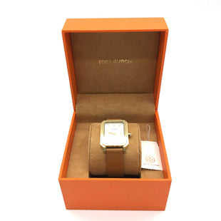 Primary Photo - BRAND: TORY BURCH STYLE: WATCH COLOR: BROWN  SKU: 262-26241-45508