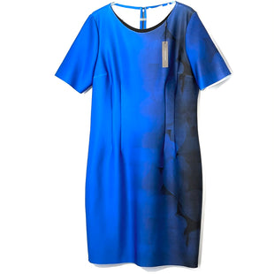 Primary Photo - BRAND: T TAHARI STYLE: DRESS SHORT SHORT SLEEVE COLOR: BLUE SIZE: XXL/16SKU: 262-26275-74568DESIGNER FINAL 5% ELASTANE