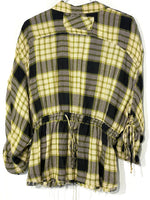 Photo #1 - BRAND: WE THE FREE FREE PEOPLE<BR>STYLE: TOP LONG SLEEVE <BR>COLOR: CHECKED <BR>SIZE: S <BR>SKU: 262-26211-140798