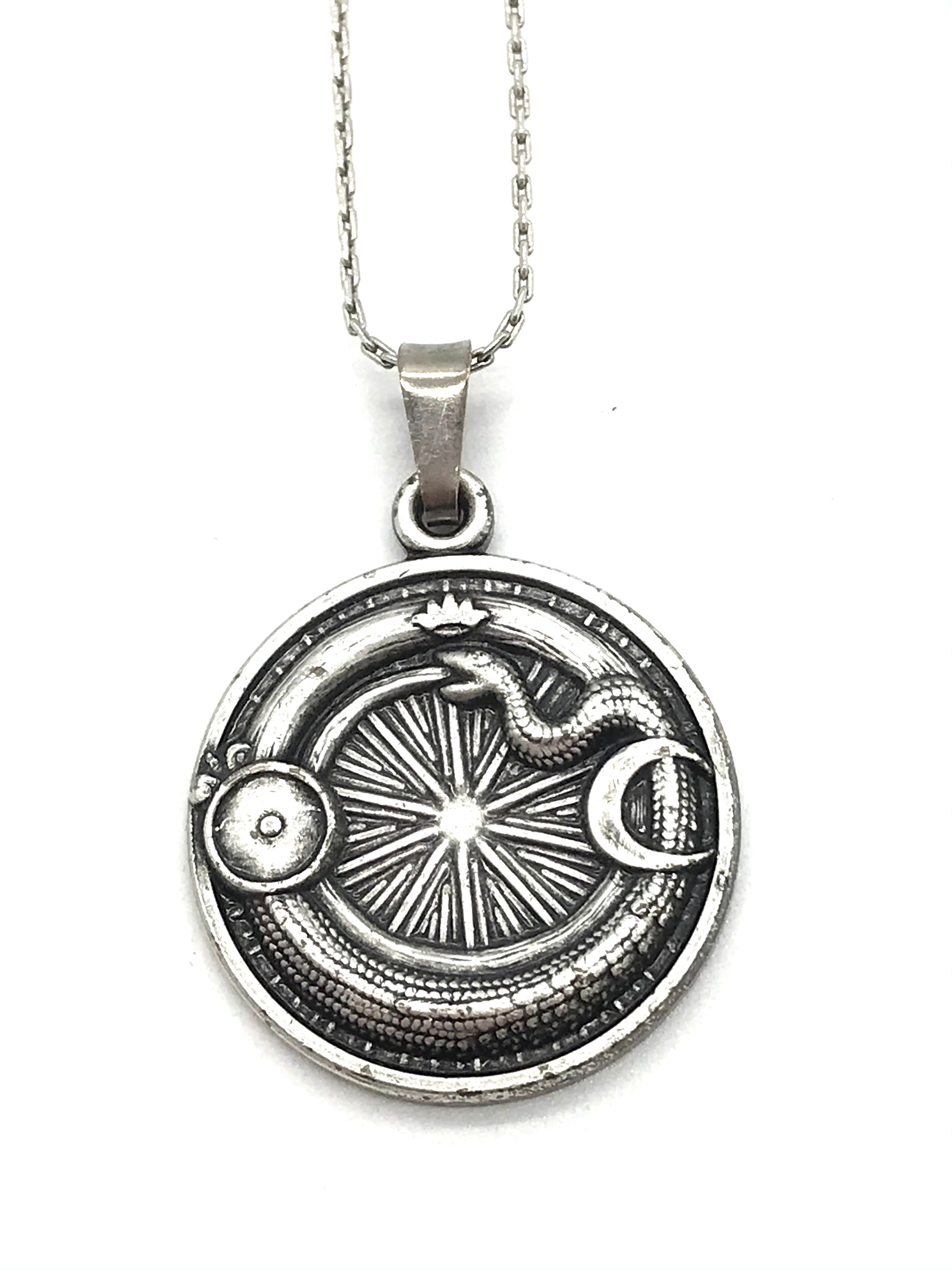 Photo #1 - BRAND: ALEX AND ANI <BR>STYLE: NECKLACE <BR>COLOR: SILVER TONE<BR>SKU: 262-26275-72154<BR>AS IS <BR>