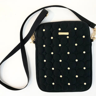 "Primary Photo - BRAND: REBECCA MINKOFF STYLE: HANDBAG DESIGNER COLOR: BLACK SIZE: SMALL SKU: 262-26211-131782DESIGNER ITEM - FINAL SALEAPPROX. 7.5"" X 10"""