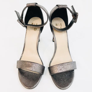 Primary Photo - BRAND:  MIX NO.6STYLE: SANDALS HIGH HEELSCOLOR: METALLIC SIZE: 8 SKU: 262-26241-31421- AS IS -
