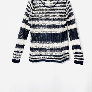 Primary Photo - BRAND: CHICOS STYLE: SWEATER LIGHTWEIGHT COLOR: STRIPED SEQUINSIZE: L /2SKU: 262-262101-1998