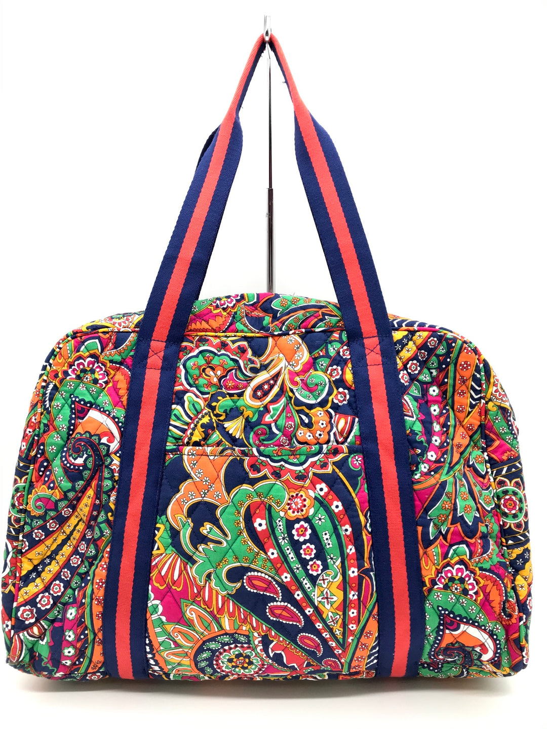 Primary Photo - BRAND: VERA BRADLEY <BR>STYLE: HANDBAG <BR>COLOR: ORANGE BLUE <BR>SIZE: LARGE <BR>SKU: 262-26211-139510<BR>IN GOOD CONDITION - AS IS