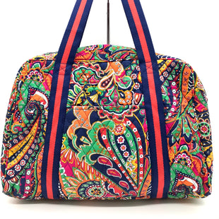 Primary Photo - BRAND: VERA BRADLEY STYLE: HANDBAG COLOR: ORANGE BLUE SIZE: LARGE SKU: 262-26211-139510IN GOOD CONDITION - AS IS