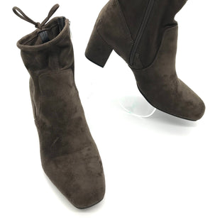 Primary Photo - BRAND: FRANCO SARTO STYLE: BOOTS ANKLE COLOR: OLIVE SIZE: 9 SKU: 262-262101-1748IN GOOD SHAPE AND CONDITION