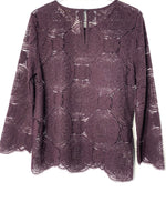 Photo #1 - BRAND: ANN TAYLOR LOFT <BR>STYLE: BLOUSE <BR>COLOR: PURPLE <BR>SIZE: M <BR>SKU: 262-26211-141548