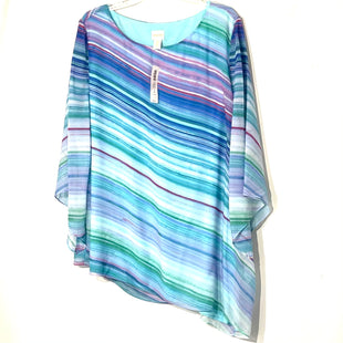 Primary Photo - BRAND: CHICOS STYLE: BLOUSE COLOR: BLUE SIZE: 3X /4SKU: 262-26211-133297