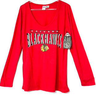 Primary Photo - BRAND: NFL STYLE: ATHLETIC TOP COLOR: RED SIZE: L SKU: 262-26275-74634