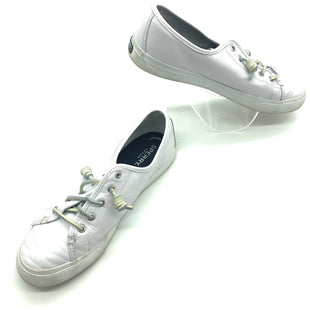 Primary Photo - BRAND: SPERRY STYLE: SHOES ATHLETIC COLOR: WHITE SIZE: 9.5 SKU: 262-26275-75837PRICE REFLECTS SOME GENTLE WEAR