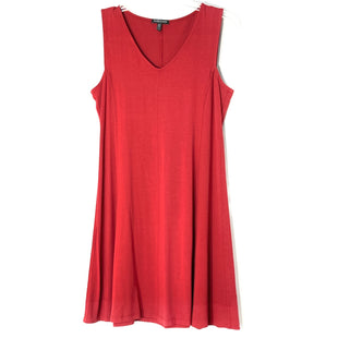 Primary Photo - BRAND: EILEEN FISHER STYLE: DRESS SLEEVELESS COLOR: BRICK RED SIZE: PETITE  MEDIUM SKU: 262-262101-3172