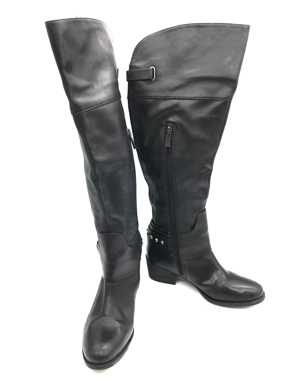Primary Photo - BRAND: VINCE CAMUTO <BR>STYLE: BOOTS KNEE <BR>COLOR: BLACK <BR>SIZE: 6.5 <BR>SKU: 262-26275-72179<BR><BR>SOME SLIGHT SCRATCHES