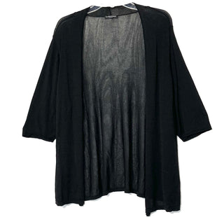 Primary Photo - BRAND: EILEEN FISHER STYLE: SWEATER CARDIGAN LIGHTWEIGHT COLOR: BLACK SIZE: L SKU: 262-26241-46232SIZE TAG MISSING AS IS NO GUARANTEES OF FIT