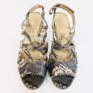 Primary Photo - BRAND: NATURALIZER STYLE: SANDALS HIGH HEELSCOLOR: SNAKESKIN PRINT SKU: 262-26275-47352- AS IS -