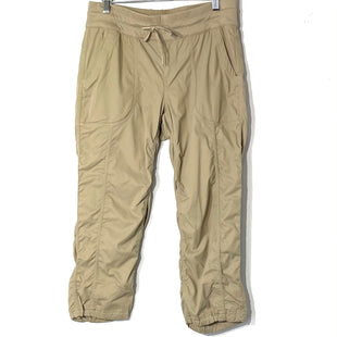 Primary Photo - BRAND: NORTHFACE STYLE: ATHLETIC CAPRIS COLOR: KHAKI SIZE: M SKU: 262-26275-77587