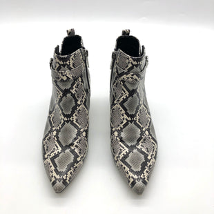 Primary Photo - BRAND: CIRCUS BY SAM EDELMAN STYLE: BOOTS ANKLE COLOR: SNAKESKIN PRINT SIZE: 8 SKU: 262-26241-47682