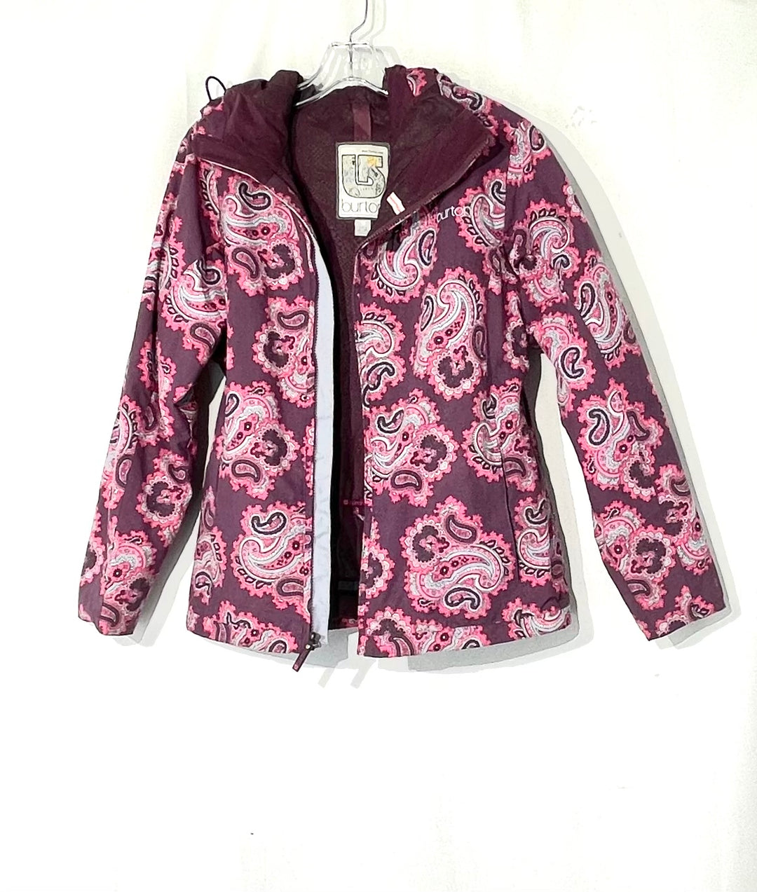 Primary Photo - BRAND: BURTON <BR>STYLE: JACKET <BR>COLOR: PAISLEY <BR>SIZE: M <BR>SKU: 262-26275-73547
