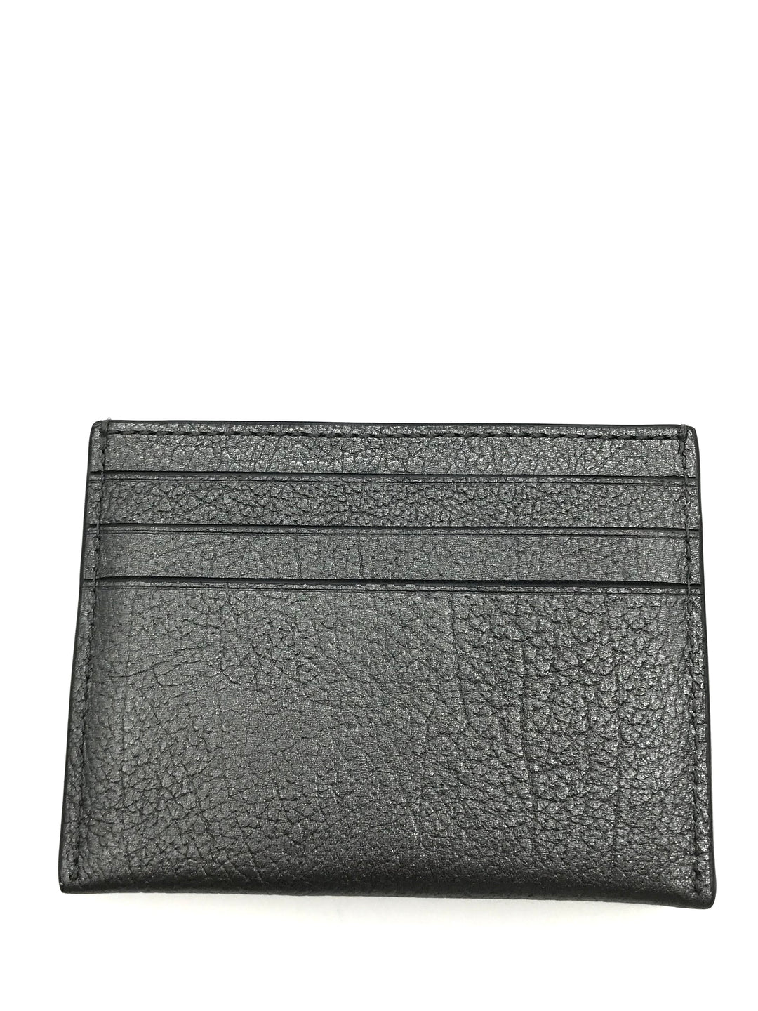 "Photo #1 - BRAND: COACH <BR>STYLE: WALLET ACCESSORY<BR>COLOR: METALLIC <BR>SIZE: MEDIUM <BR>SKU: 262-26241-43691<BR><BR>APPROX. 4""L X 3""H"