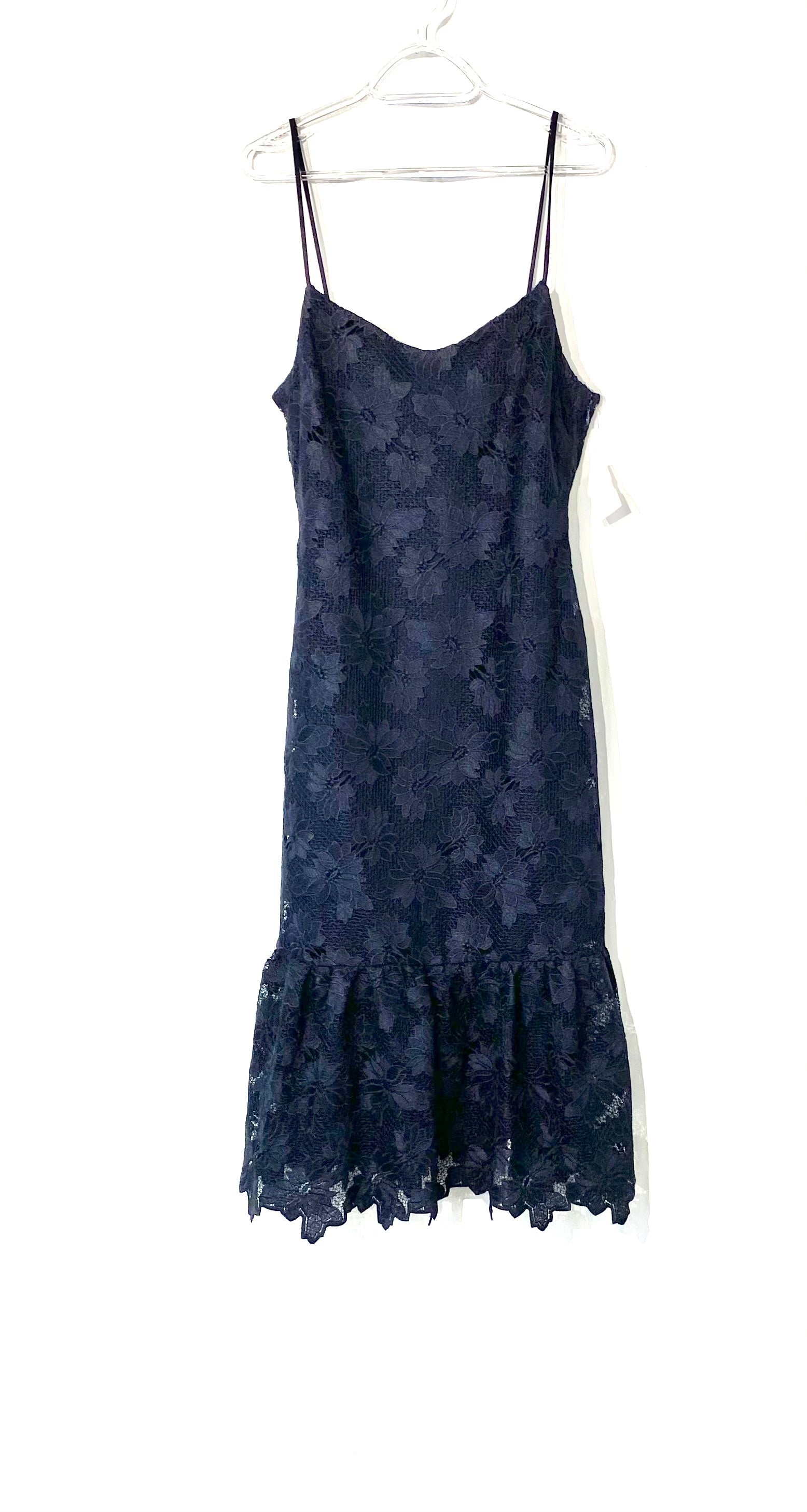 Primary Photo - BRAND: BANANA REPUBLIC <BR>STYLE: DRESS SHORT SLEEVELESS <BR>COLOR: NAVY <BR>SIZE: M <BR>SKU: 262-26241-43979