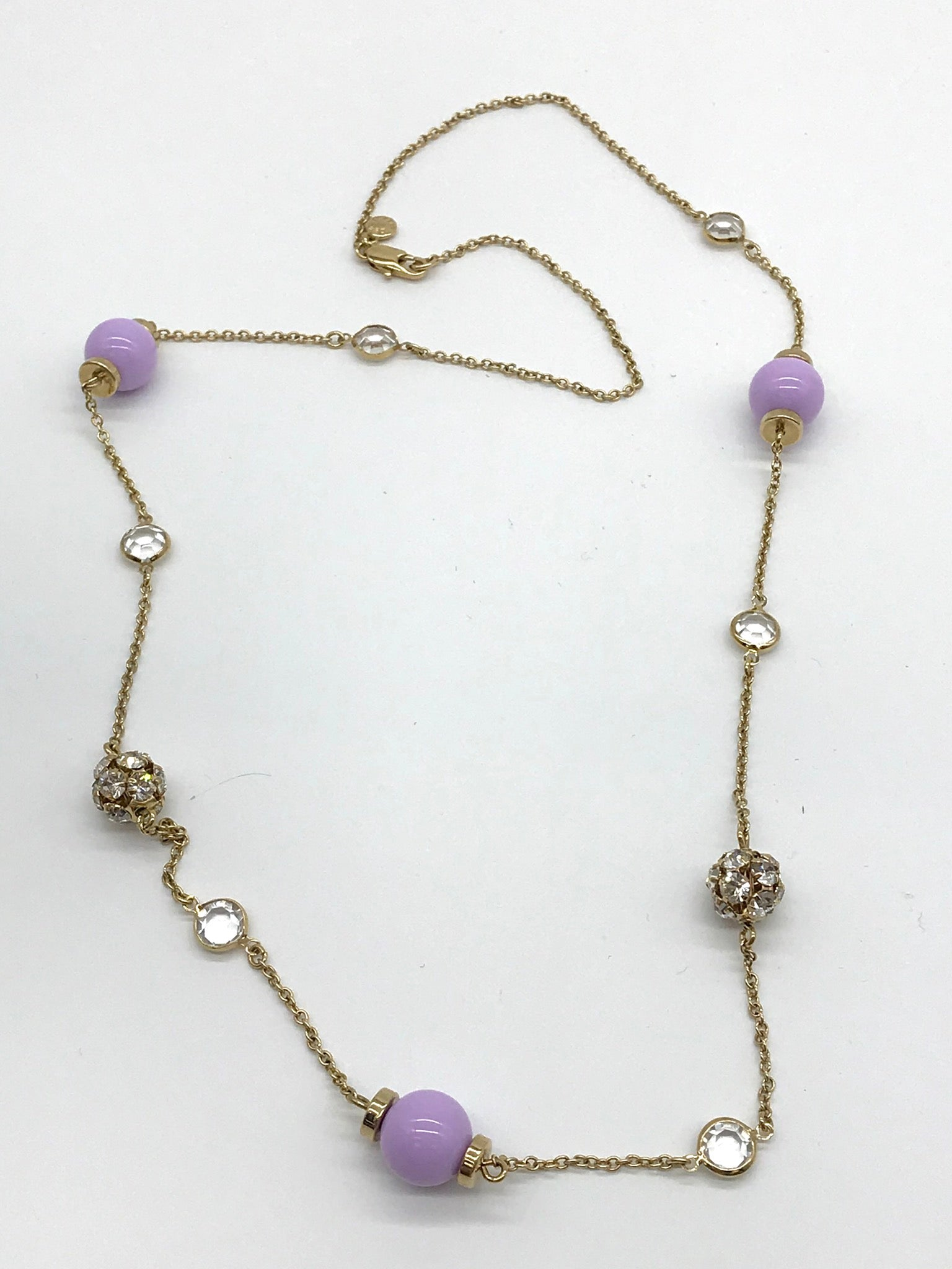 Primary Photo - BRAND: J CREW <BR>STYLE: NECKLACE <BR>COLOR: LILAC <BR>SKU: 262-26298-499<BR>AS IS