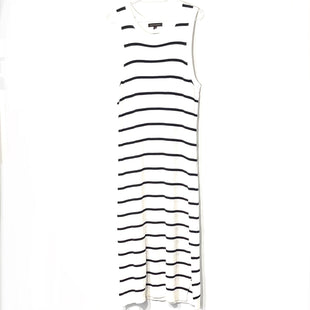 Primary Photo - BRAND: BANANA REPUBLIC STYLE: DRESS SHORT SLEEVELESS COLOR: STRIPED SIZE: XL SKU: 262-26275-75975