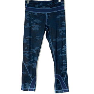 Primary Photo - BRAND: LULULEMON STYLE: ATHLETIC CAPRIS COLOR: CAMOFLAUGE SIZE: 2 OTHER INFO: NAVY CAMO SKU: 262-26241-47327DESIGNER FINAL