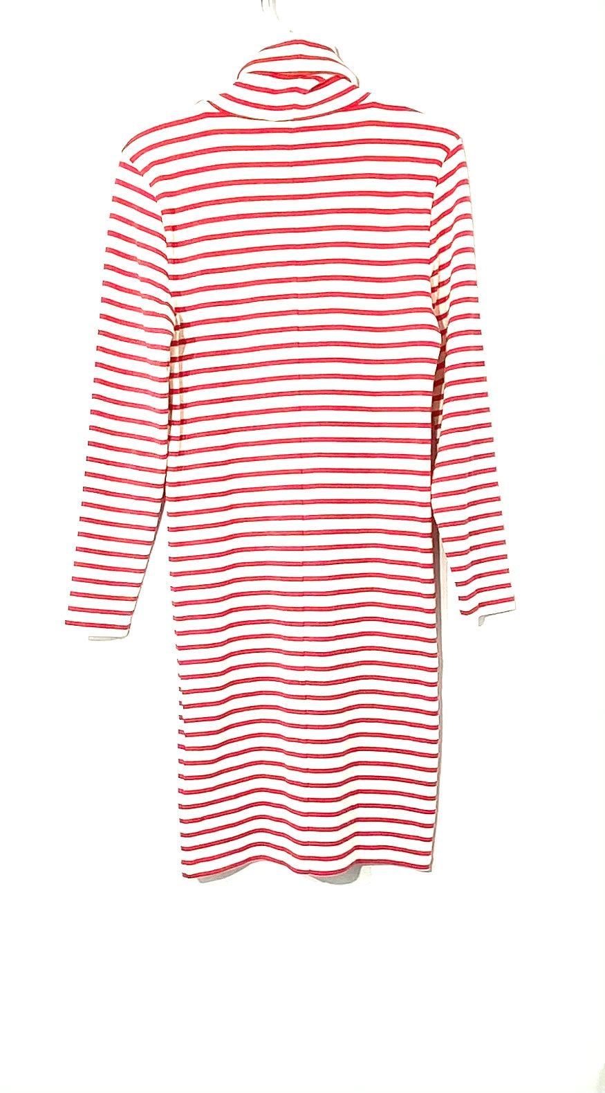 Photo #1 - BRAND: J CREW <BR>STYLE: DRESS SHORT LONG SLEEVE <BR>COLOR: STRIPED RED AND WHITE<BR>SIZE: M <BR>SKU: 262-26275-71997